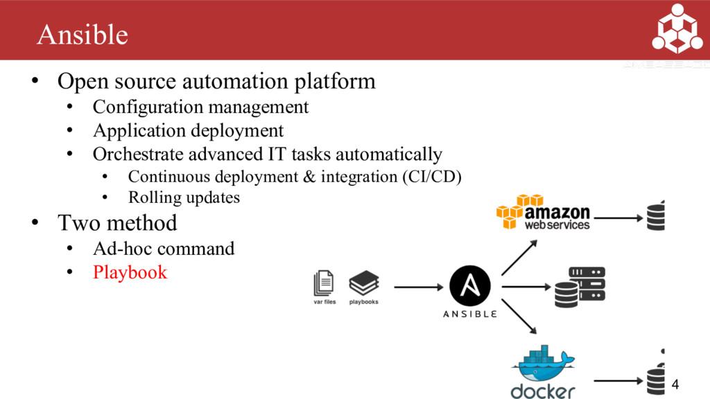 • Open source automation platform • Configurati...