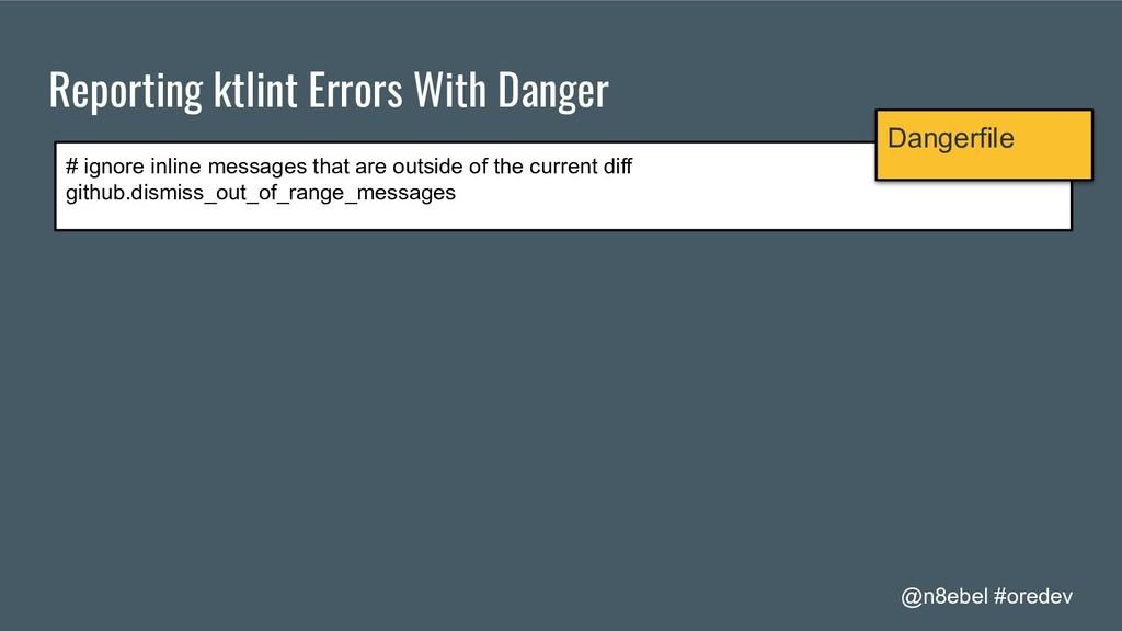 @n8ebel #oredev Reporting ktlint Errors With Da...
