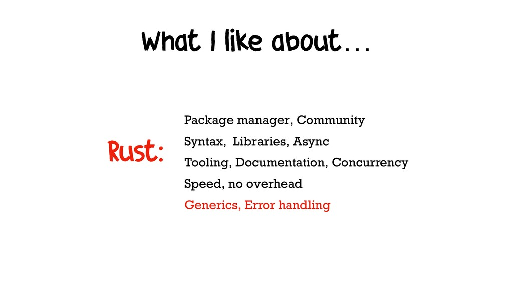 What I like about… Package manager, Community S...