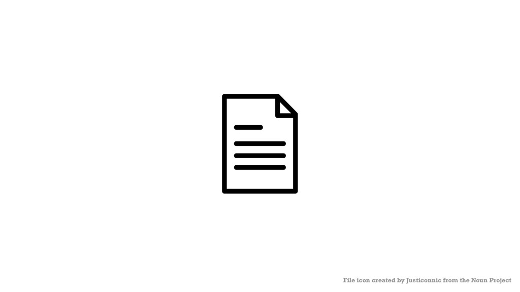 File icon created by Justiconnic from the Noun ...