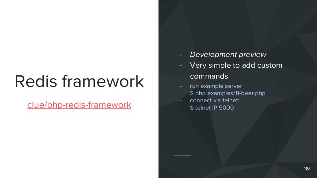 Redis framework 110 clue/php-redis-framework - ...