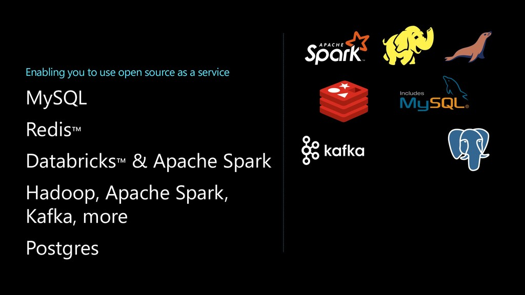 Enabling you to use open source as a service My...