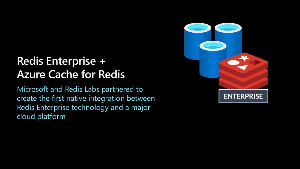 Redis Enterprise + Azure Cache for Redis Micros...