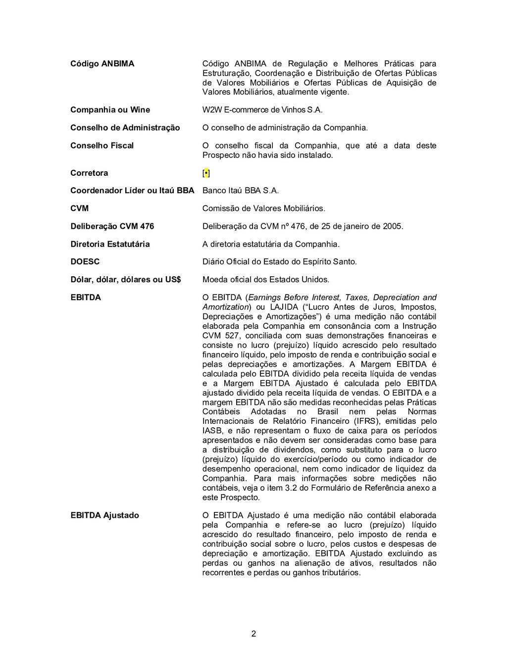 2 Código ANBIMA Código ANBIMA de Regulação e Me...