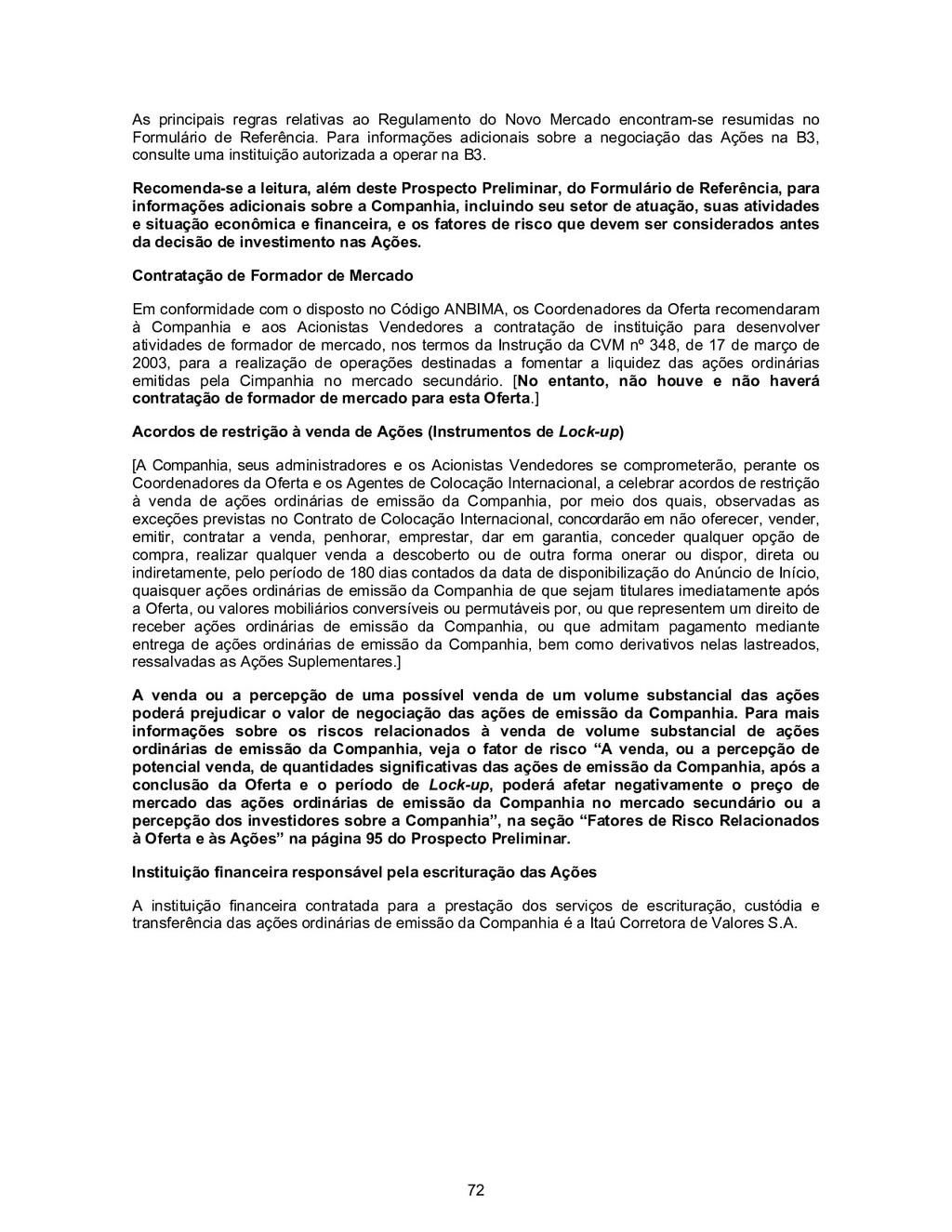 72 As principais regras relativas ao Regulament...