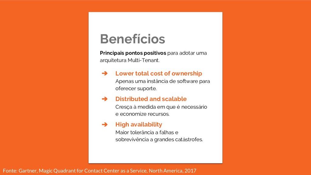 Benefícios Principais pontos positivos para ado...