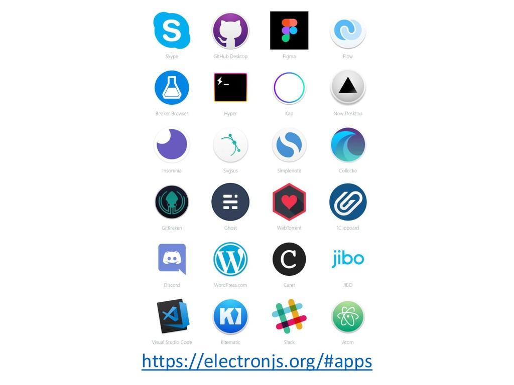 https://electronjs.org/#apps