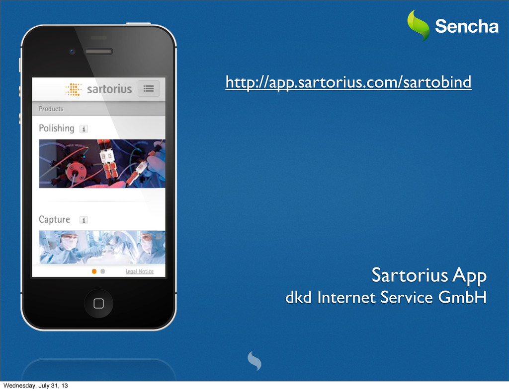 Sartorius App dkd Internet Service GmbH http://...