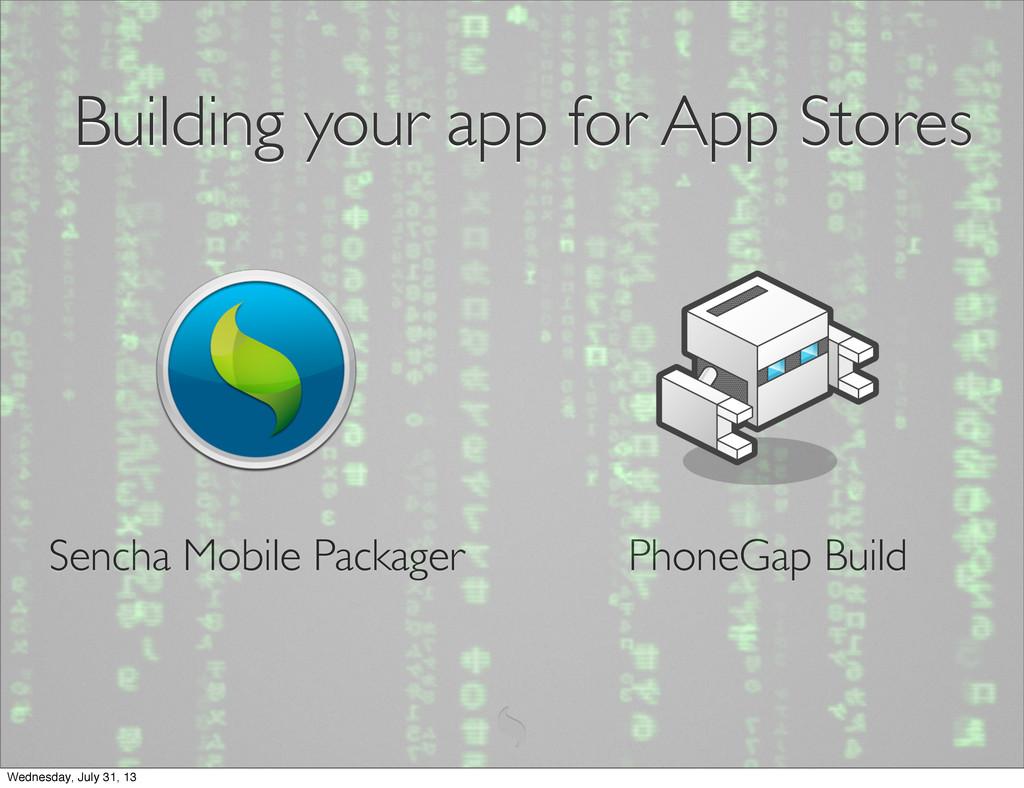 PhoneGap Build Sencha Mobile Packager Building ...