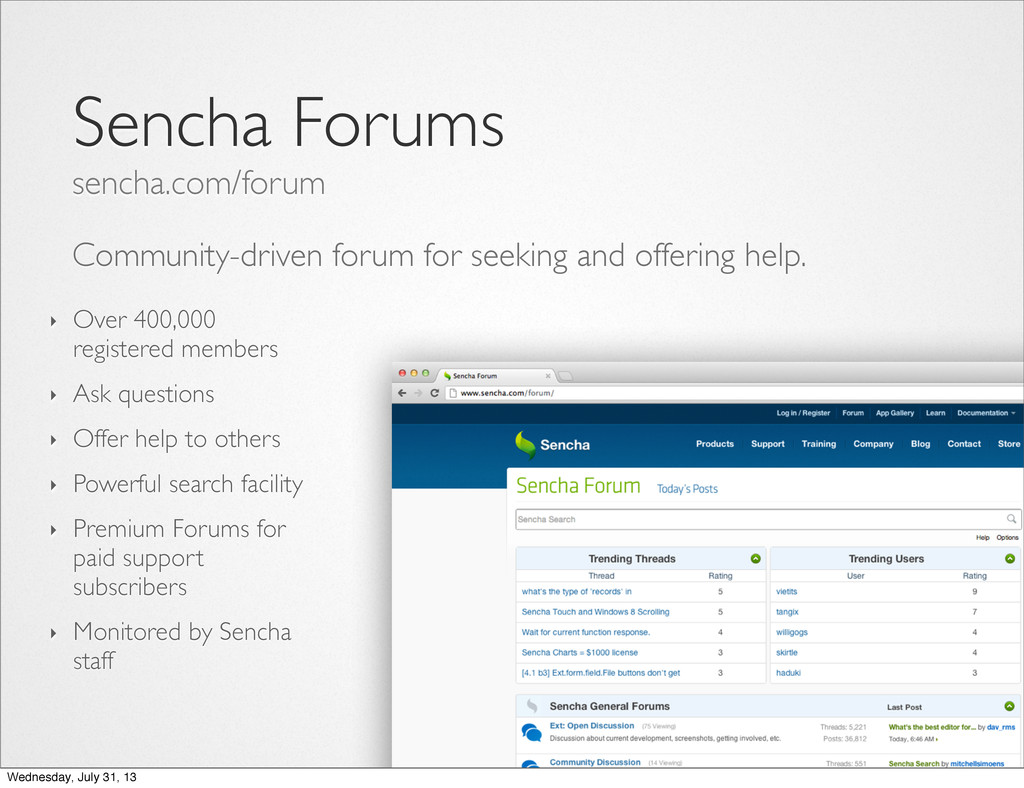 Community-driven forum for seeking and offering...