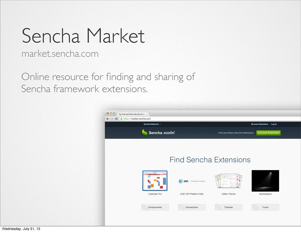 Online resource for finding and sharing of Sench...