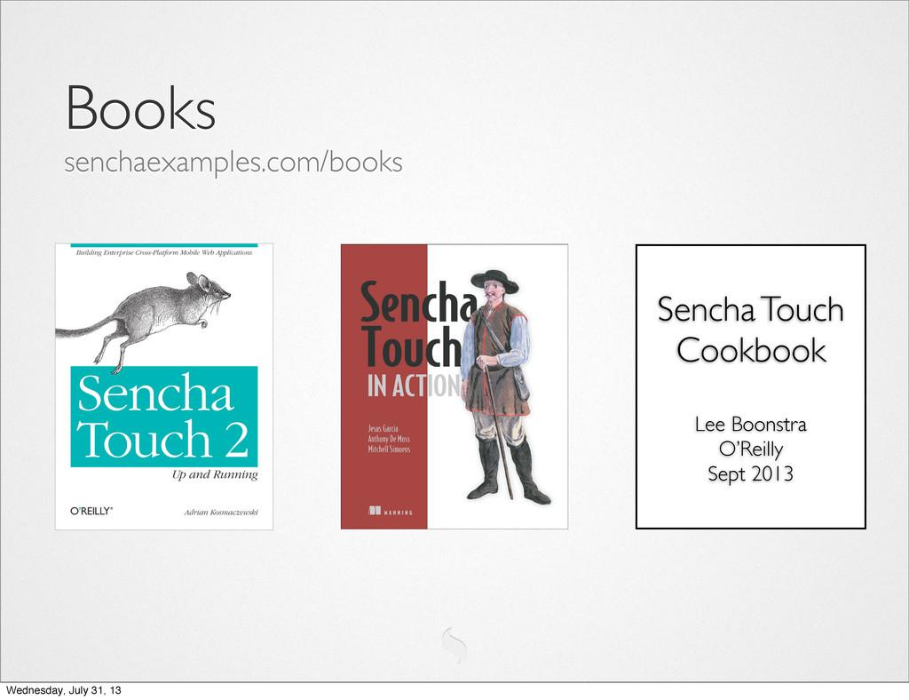 Books senchaexamples.com/books Sencha Touch Coo...