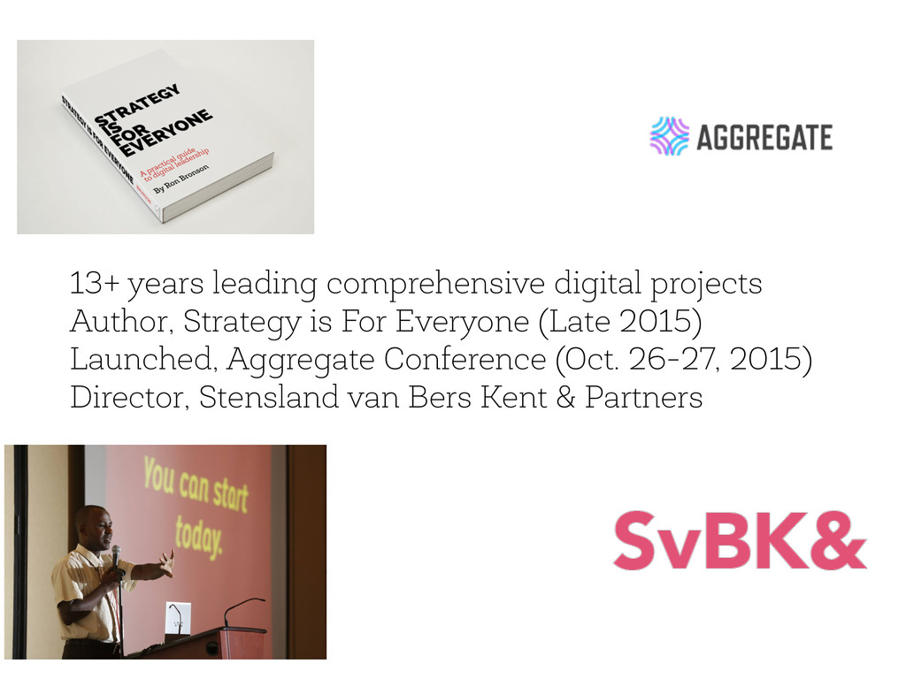 13+ years leading comprehensive digital project...