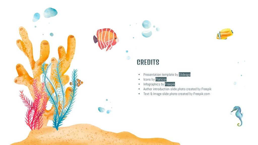 CREDITS ◂ Presentation template by Slidesgo ◂ I...