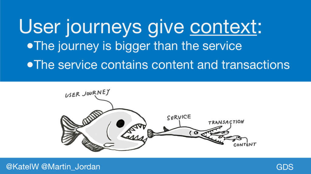 GDS @KateIW @Martin_Jordan User journeys give c...