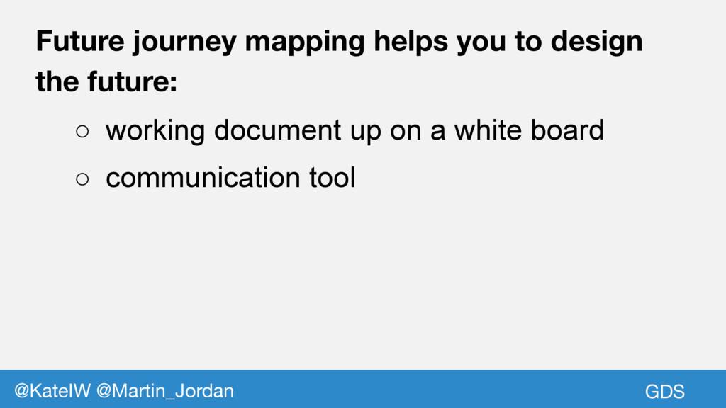 GDS @KateIW @Martin_Jordan Future journey mappi...