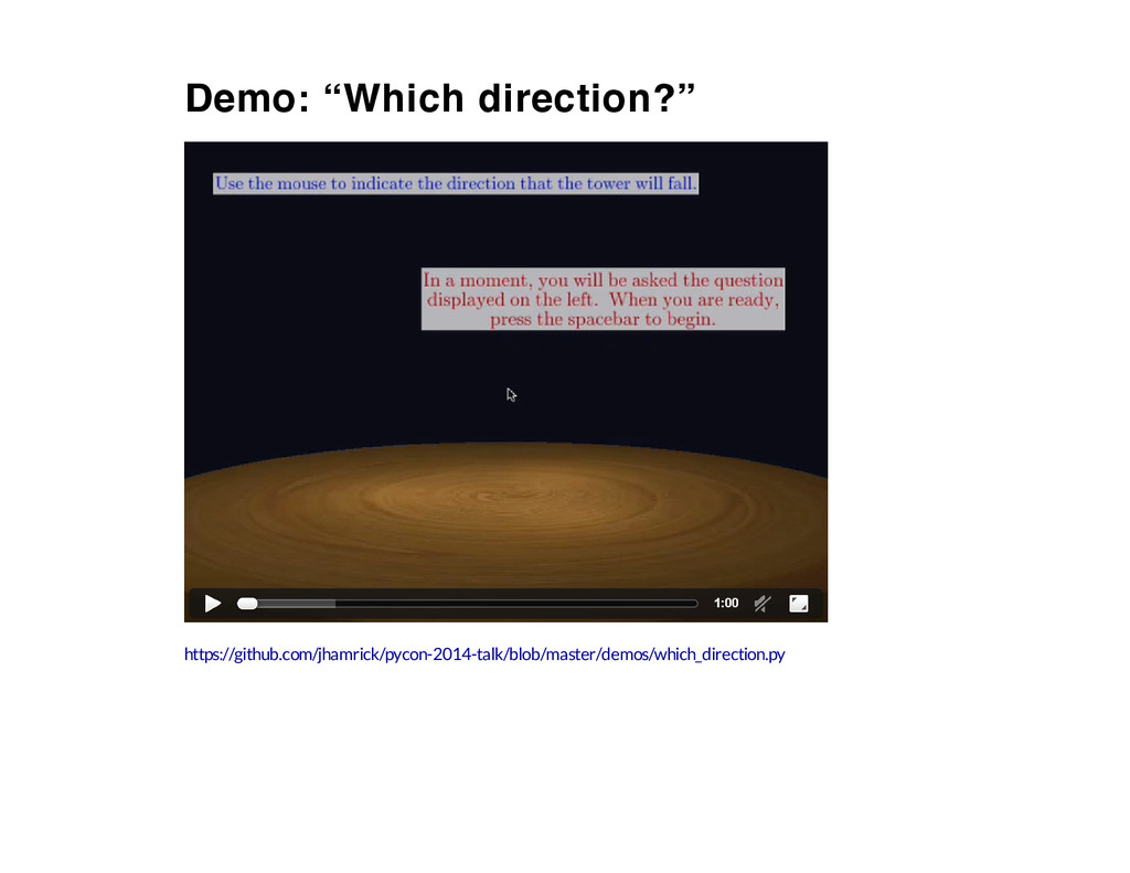 """Demo: """"Which direction?"""" 1:00 https://github.co..."""
