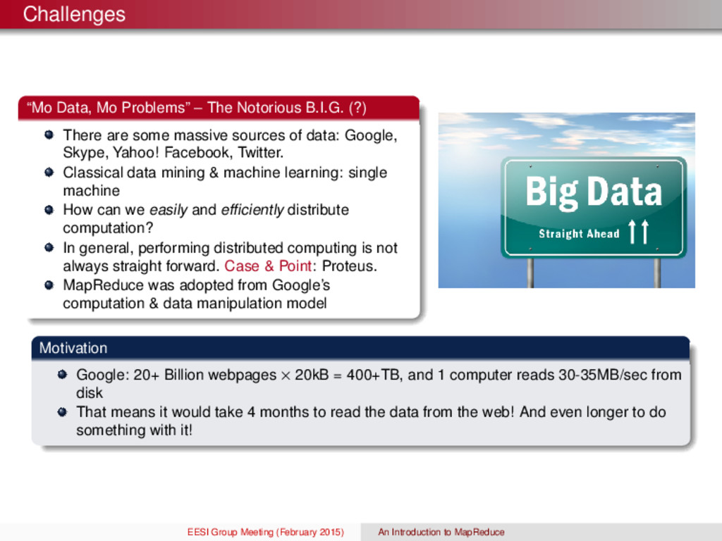 "Challenges ""Mo Data, Mo Problems"" – The Notorio..."