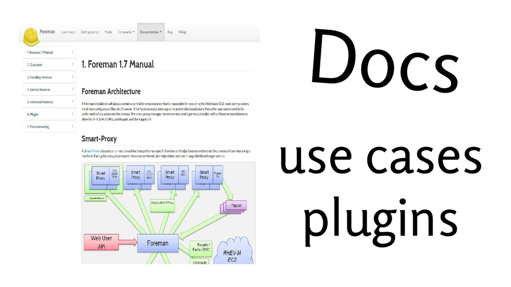 Docs use cases plugins