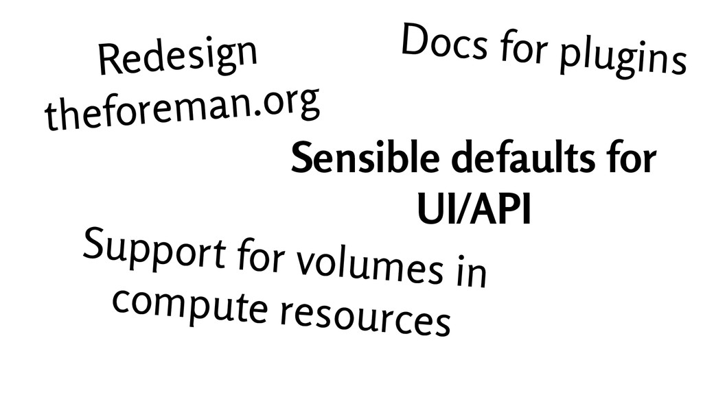 Docs for plugins Redesign theforeman.org Sensib...