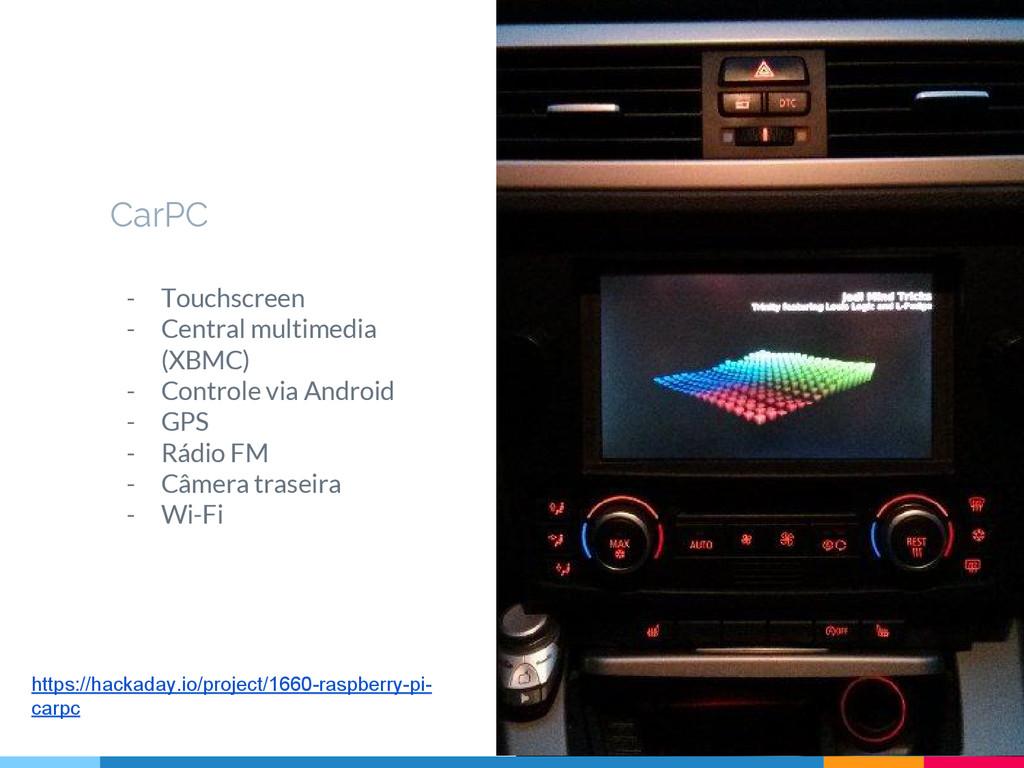 CarPC - Touchscreen - Central multimedia (XBMC)...