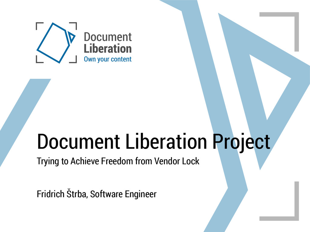 Document Liberation Project Trying to Achieve F...