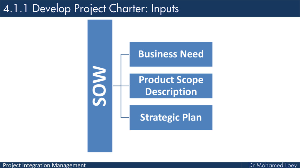 Project Integration Management SOW Business Nee...
