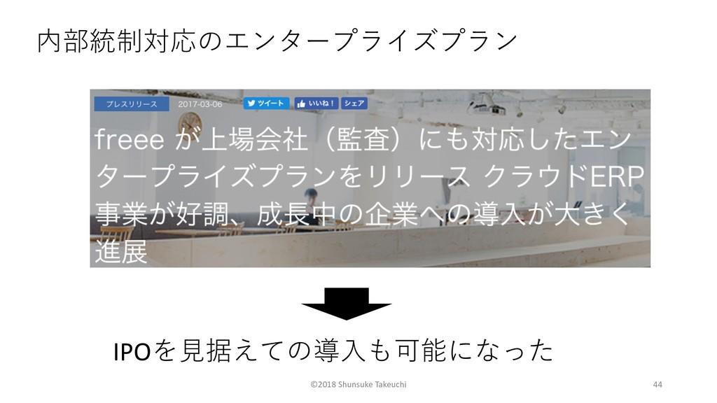 ©2018 Shunsuke Takeuchi 44  I...