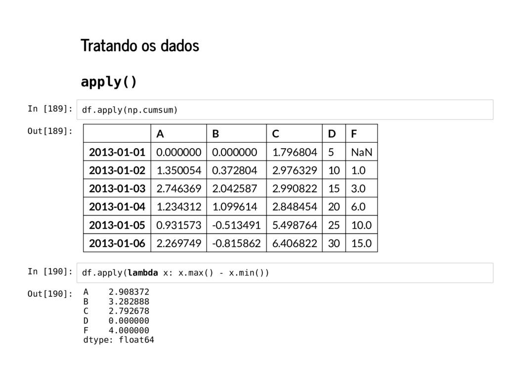 Tratando os dados apply() In [189]: In [190]: d...