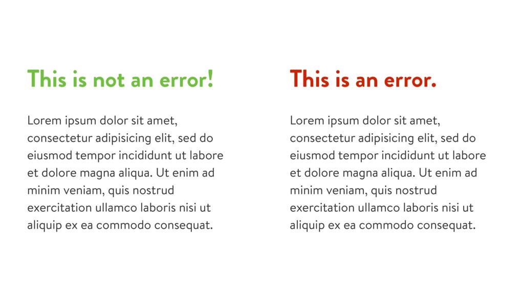 This is an error. Lorem ipsum dolor sit amet, c...