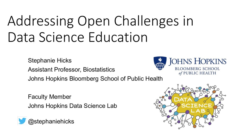 Addressing Open Challenges in Data Science Educ...