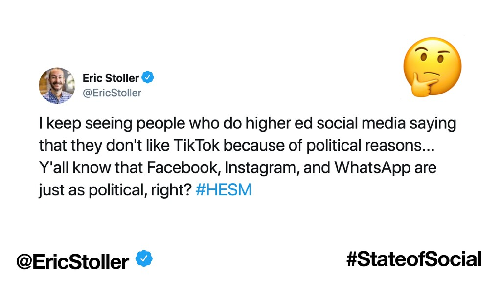 @EricStoller #StateofSocial