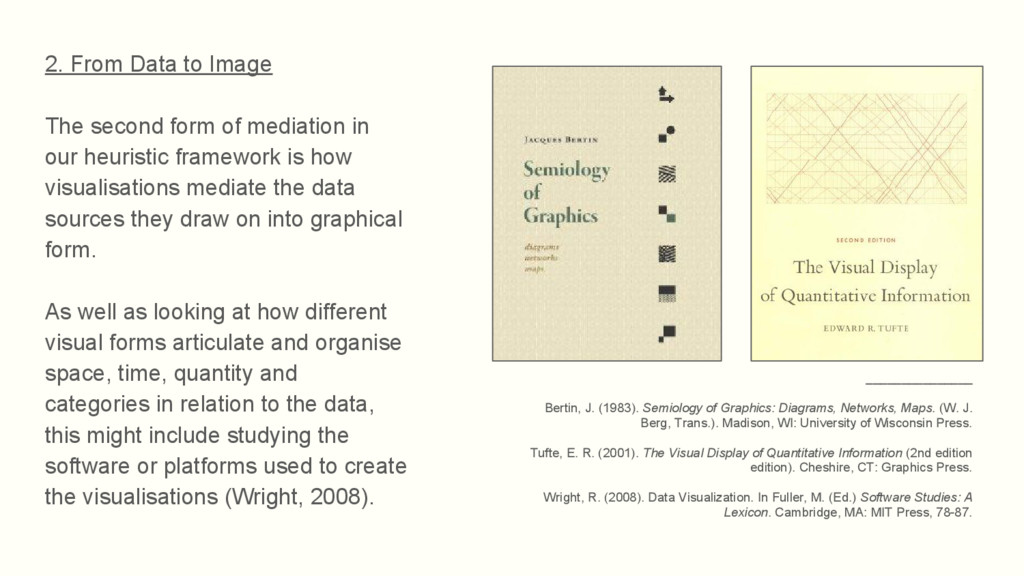 2. From Data to Image The second form of mediat...