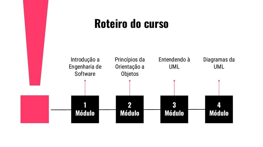 Roteiro do curso 1 Módulo Introdução a Engenhar...