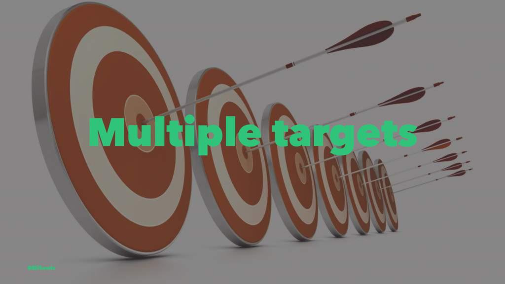 Multiple targets @EliSawic