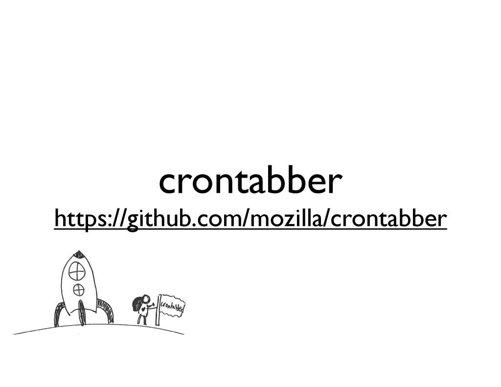crontabber https://github.com/mozilla/crontabber