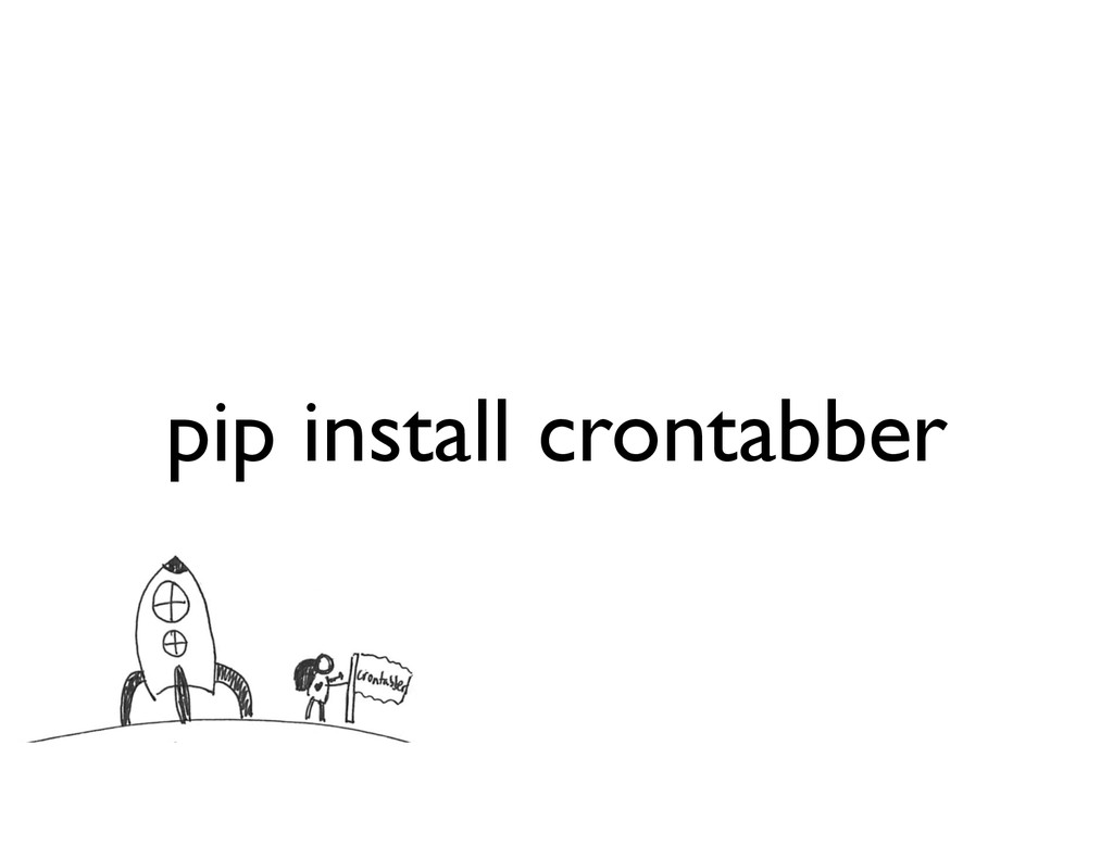 pip install crontabber
