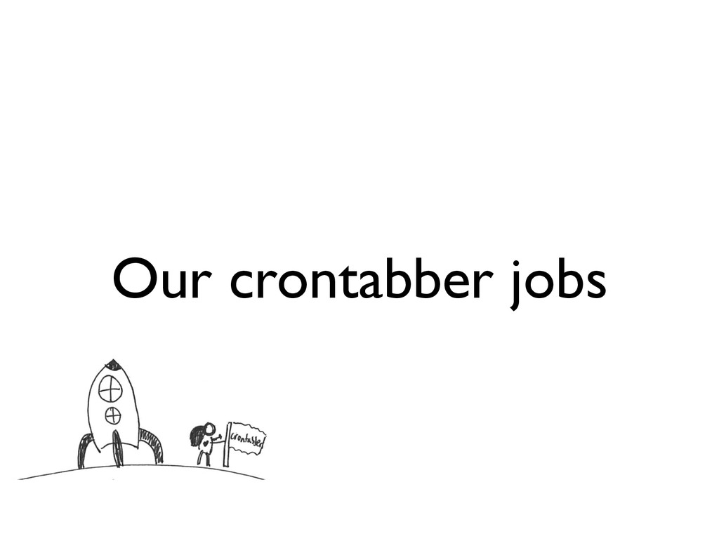 Our crontabber jobs