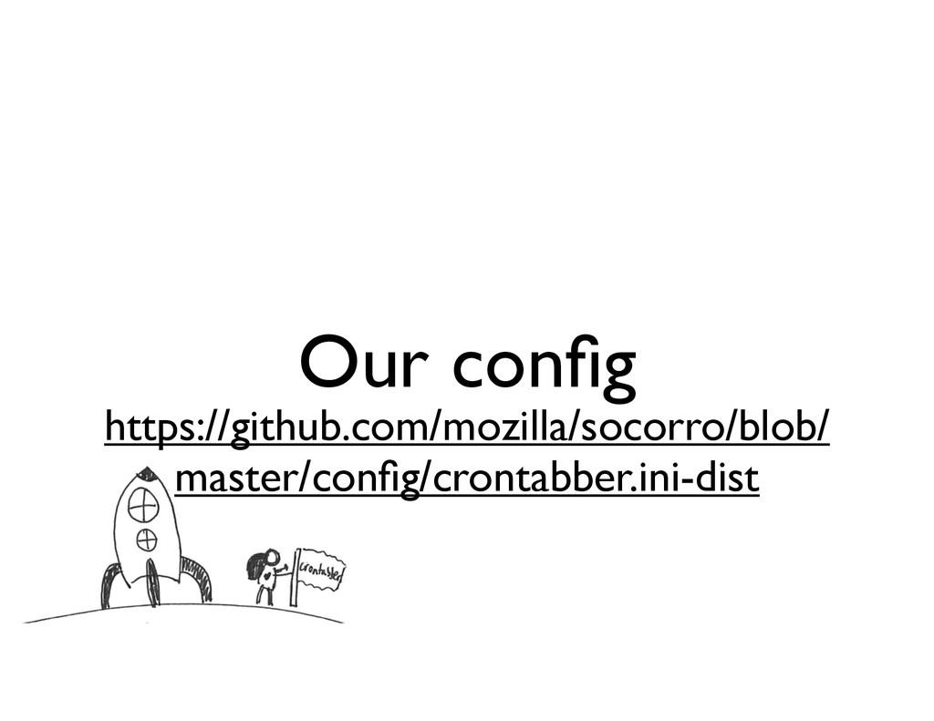 Our config https://github.com/mozilla/socorro/bl...
