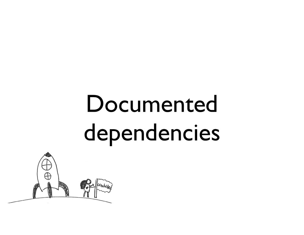 Documented dependencies