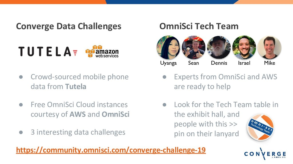 ● Crowd-sourced mobile phone data from Tutela ●...