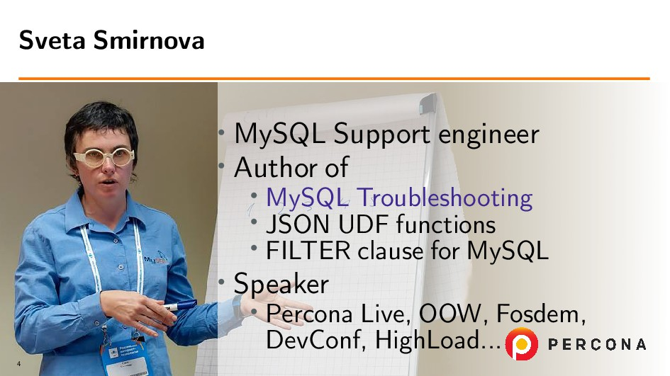• MySQL Support engineer • Author of • MySQL Tr...