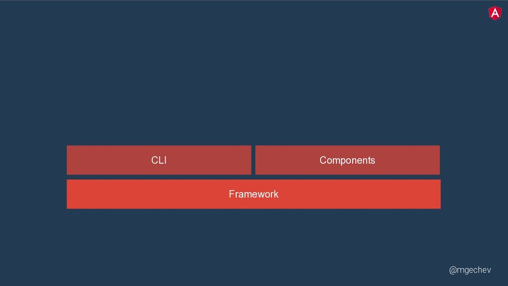 @mgechev Framework CLI Components