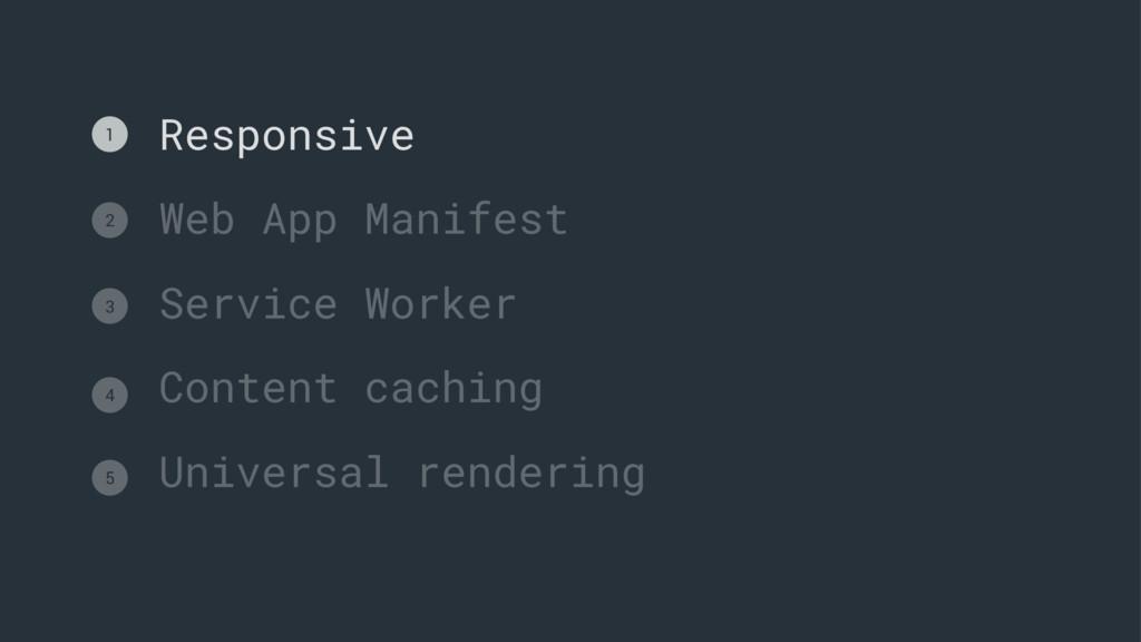 Responsive Web App Manifest Service Worker Cont...