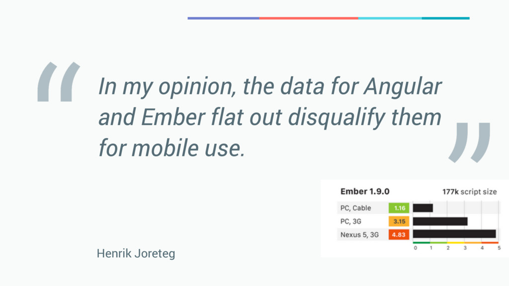 In my opinion, the data for Angular and Ember f...