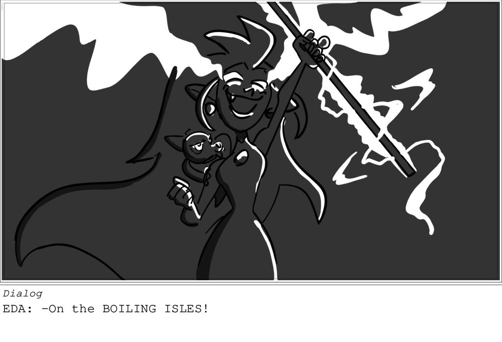 Dialog EDA: -On the BOILING ISLES!