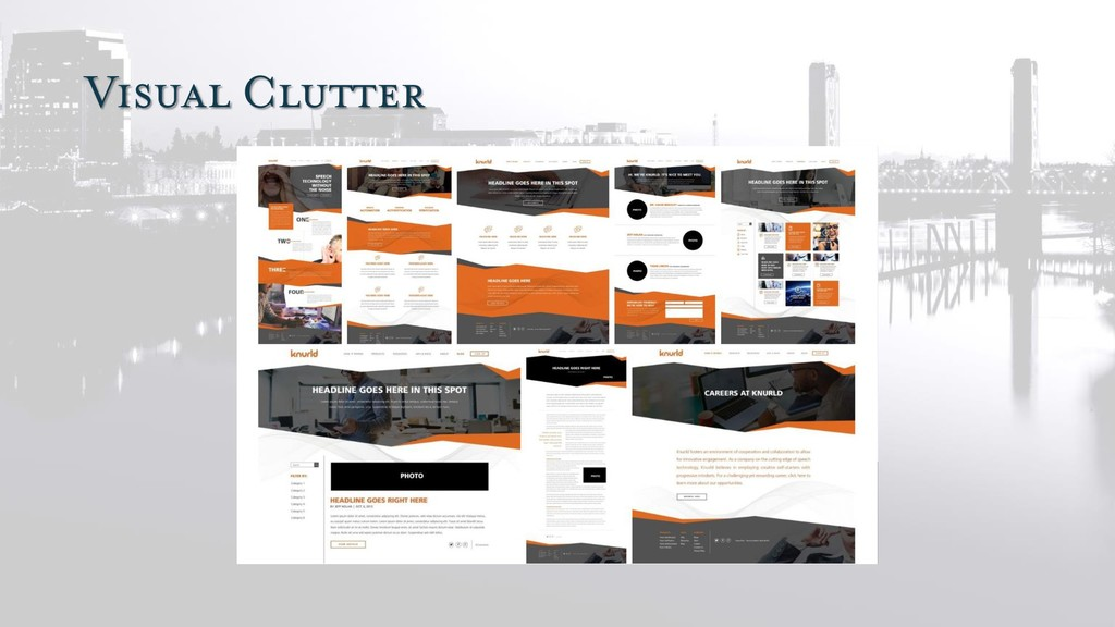 Visual Clutter