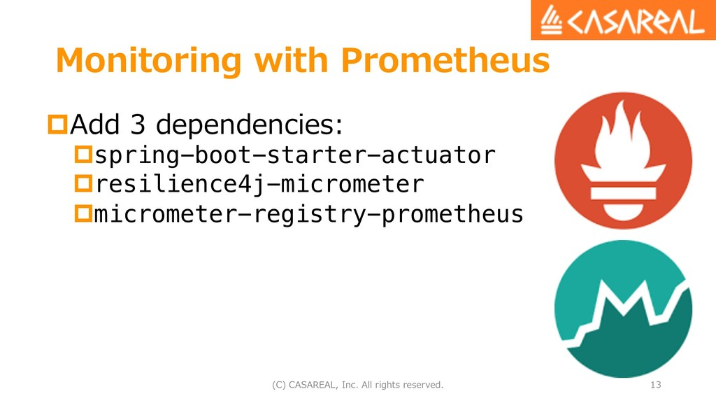 Monitoring with Prometheus pAdd 3 dependencies:...