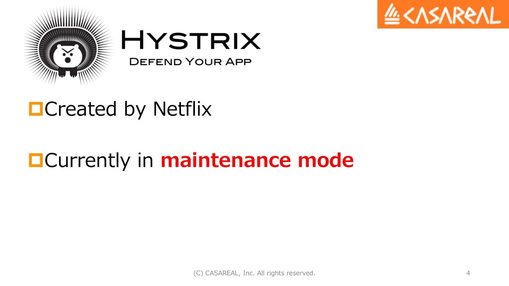 pCreated by Netflix pCurrently in maintenance m...