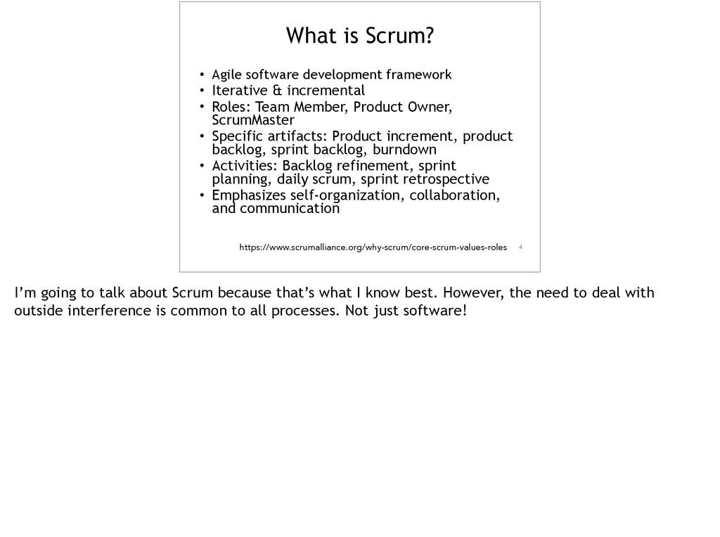 • Agile software development framework • Iterat...